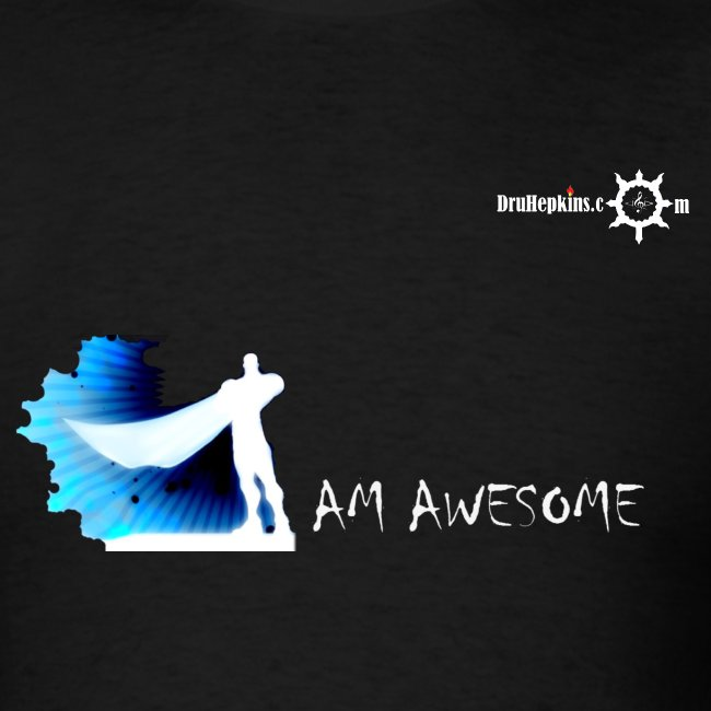 I AM AWESOME Male BLK