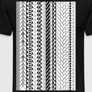 Tapu by SKU (samoan_tribal_band) T-Shirts - Men's Premium T-Shirt