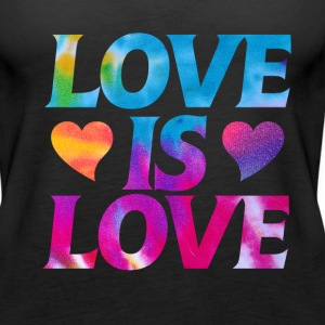 Love is Love - Women's Premium Tank Top