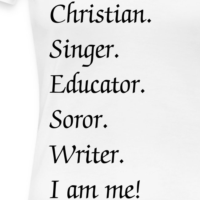 I am me! *Change the text*