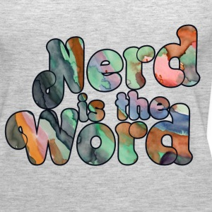 Nerd is the Word - Women's Premium Tank Top