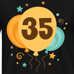 35th Birthday party T-Shirts - Men's Premium T-Shirt