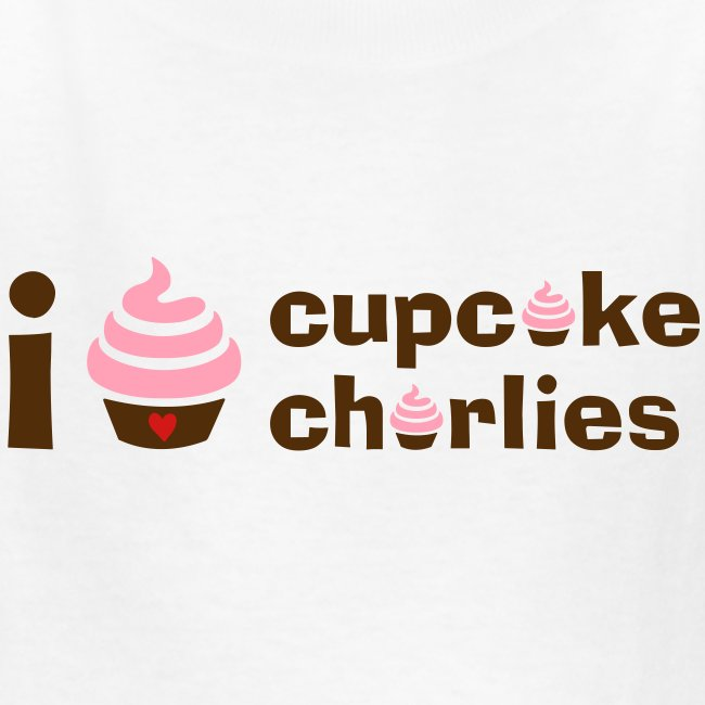 Love Cupcake Charlie's Kids Tee
