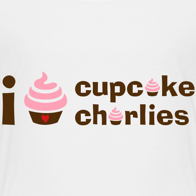 Love Cupcake Charlie's Toddler Tee