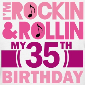 35th Birthday Rock N Roll Women's T-Shirts - Women's T-Shirt