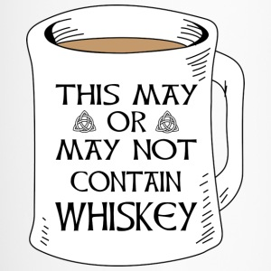 May Or Not Contain Whiskey Clothing Apparel Shirts Bottles & Mugs - Travel Mug