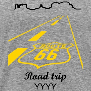 route 66 (2c) T-Shirts - Men's Premium T-Shirt