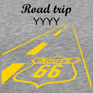 route 66 (1c) T-Shirts - Men's Premium T-Shirt