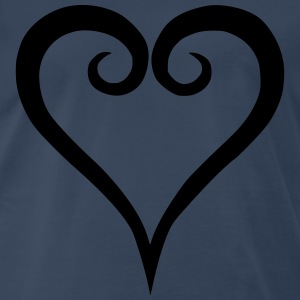 Kingdom hearts logo t-shirts - Men's Premium T-Shirt