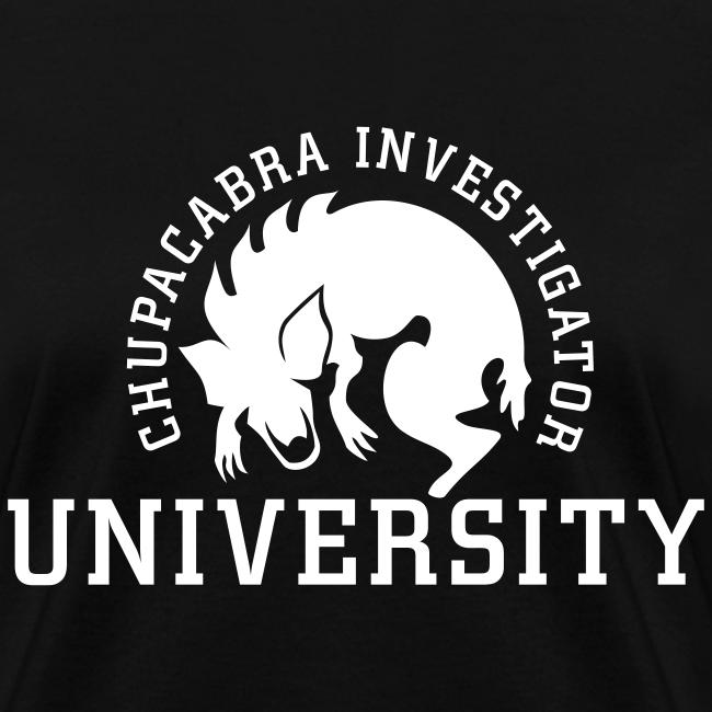 Chupacabra Investigator University Shirt