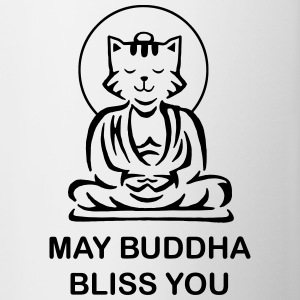 Buddha Bliss You Bottles & Mugs - Contrast Coffee Mug