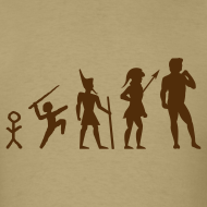 Design ~ The Evolution of Art Shirt - Copyright K. Loraine
