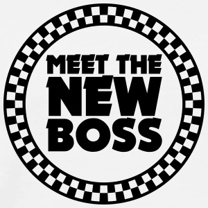meet the new boss (1c) T-Shirts - Men's Premium T-Shirt