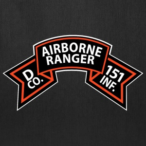 Tote Bag - D Co. 151st Infantry - Airborne Ranger  - Tote Bag