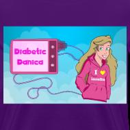 Design ~ DiabeticDanica Logo Women's T-shirt