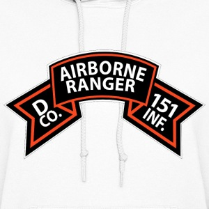 Women's Hooded Sweatshirt - D Co. 151st Infantry - - Women's Hoodie
