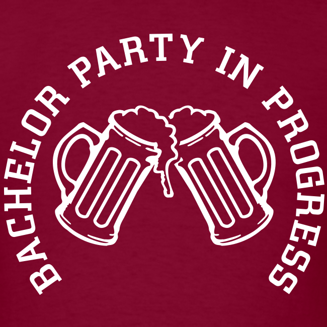 Bachelor Party in Progess Shirt