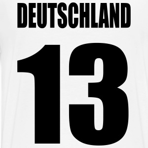 Germany no. 13 - Men's Premium T-Shirt