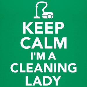 Keep calm I'm Cleaning lady Kids' Shirts - Kids' Premium T-Shirt