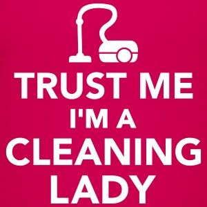 Trust me I'm Cleaning lady Kids' Shirts - Kids' Premium T-Shirt