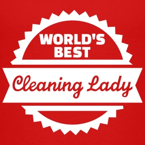 World's Best Cleaning lady Kids' Shirts - Kids' Premium T-Shirt