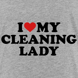 I love my Cleaning lady Kids' Shirts - Kids' Premium T-Shirt