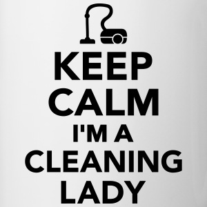 Keep calm I'm Cleaning lady Bottles & Mugs - Contrast Coffee Mug