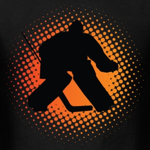 Ice Hockey Goalie T-Shirts - Men's T-Shirt