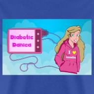 Design ~ DiabeticDanica Logo Men's T-shirt