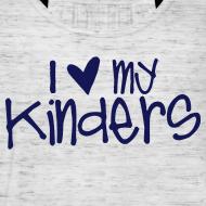 Design ~ Love My Kinders | Navy | Teacher Shirts