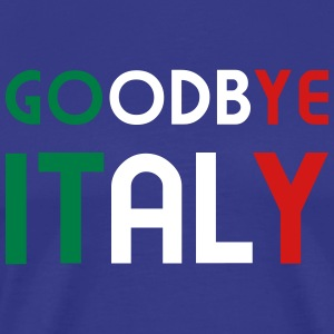 Goodbye Italy - V3 T-Shirts - Men's Premium T-Shirt