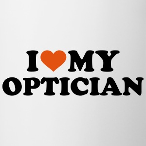 I love my Optician Bottles & Mugs - Contrast Coffee Mug