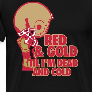 Red & Gold T-Shirts - Men's Premium T-Shirt
