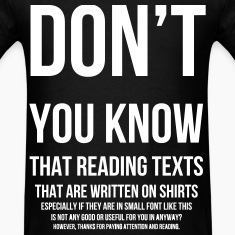 The More You Know T-Shirts