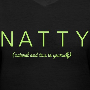 N.A.T.T.T.Y. - Women's V-Neck T-Shirt