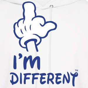 I'M DIFFERENT Hoodies - Men's Hoodie