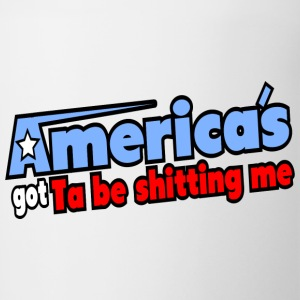 AGT: America's Got Ta Be Shitting Me Bottles & Mugs - Contrast Coffee Mug
