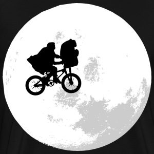 et moon bacground - Men's Premium T-Shirt