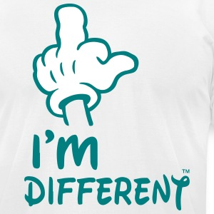 I'M DIFFERENT - Men's T-Shirt by American Apparel