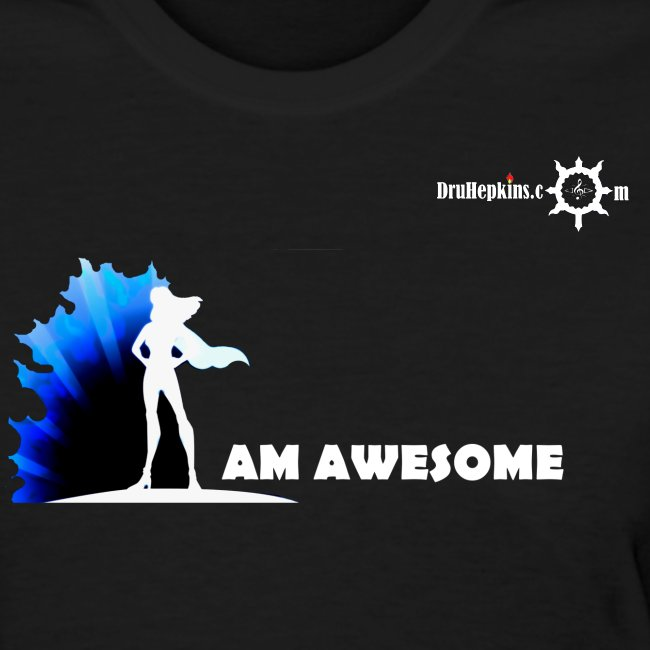 I AM AWESOME FM BLK