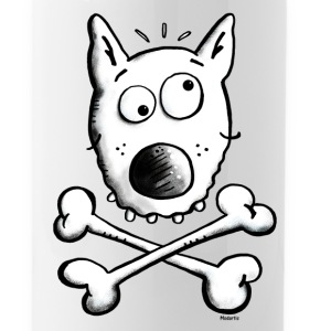 Pirate Dog - Dogs Bottles & Mugs - Water Bottle