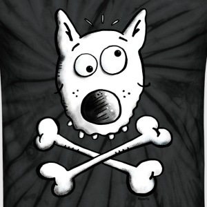 Pirate Dog - Dogs T-Shirts - Unisex Tie Dye T-Shirt