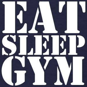 Eat Sleep Gym #Shooter basketball t-shirt - Men's T-Shirt