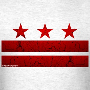 Washington -DC- Flag Vintage - Men's T-Shirt