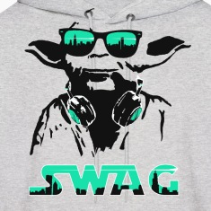 Yoda Swag Hooded Sweatshirt
