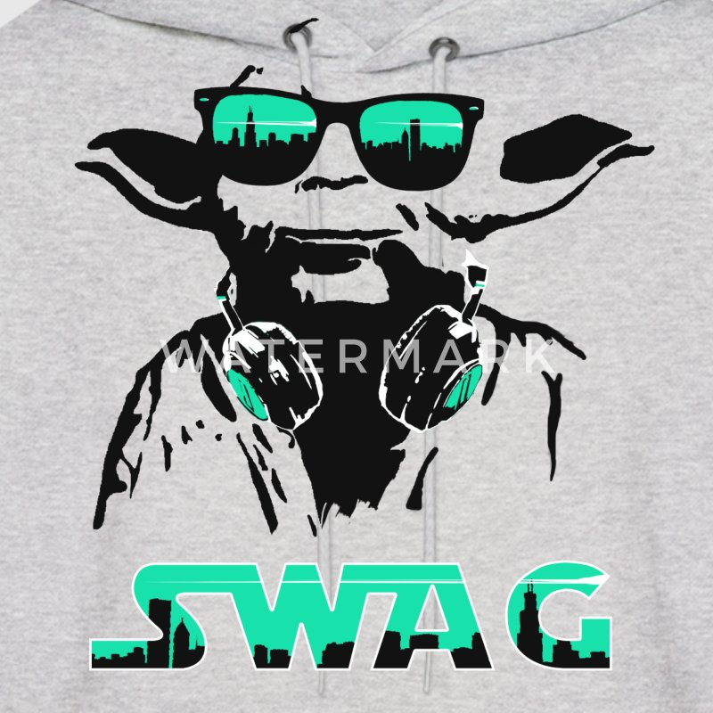 Yoda Swag Hooded Sweatshirt - Men's Hoodie