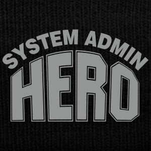 System Admin Hero Caps - Knit Cap with Cuff Print