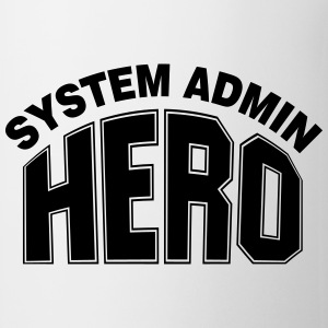 System Admin Hero Bottles & Mugs - Coffee/Tea Mug
