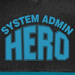 System Admin Hero Caps - Snap-back Baseball Cap