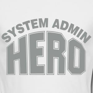System Admin Hero Long Sleeve Shirts - Men's Long Sleeve T-Shirt by Next Level